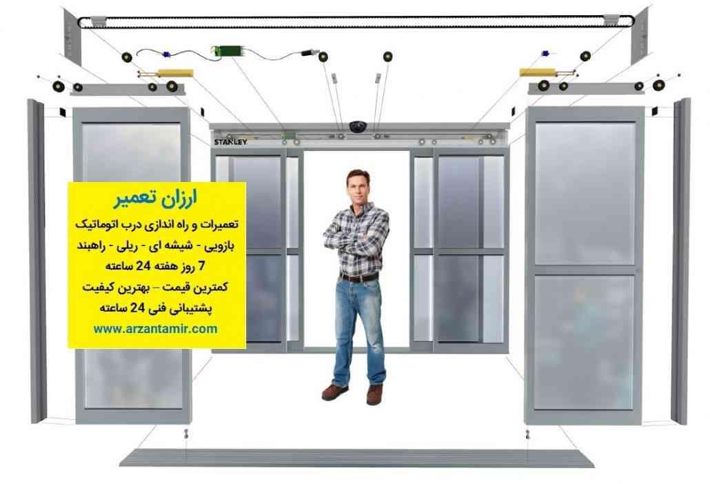 تعمیر درب اتوماتیک 1030x702 - لیست قیمت نصب سیستم درب اتوماتیک پارکینگ